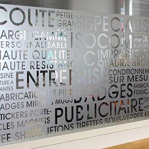 Stickers Vinyle Dépoli Lettrage, renseignements via email